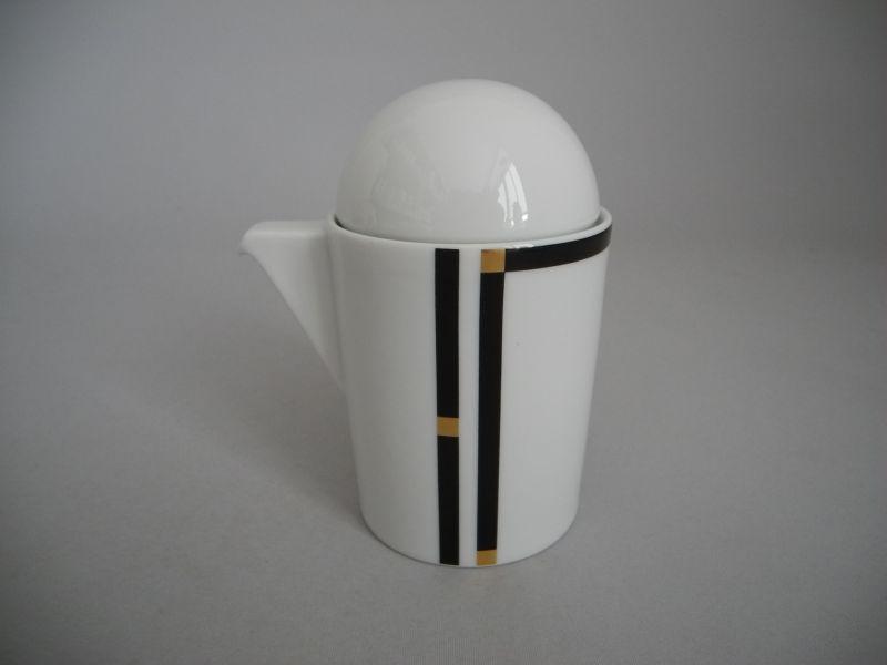 rosenthal cupola nera sahnek nnchen milchk nnchen mit deckel die porzellandiele. Black Bedroom Furniture Sets. Home Design Ideas