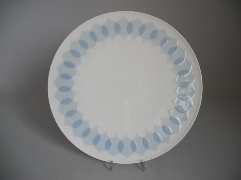 rosenthal lotus blau tortenplatte die porzellandiele. Black Bedroom Furniture Sets. Home Design Ideas